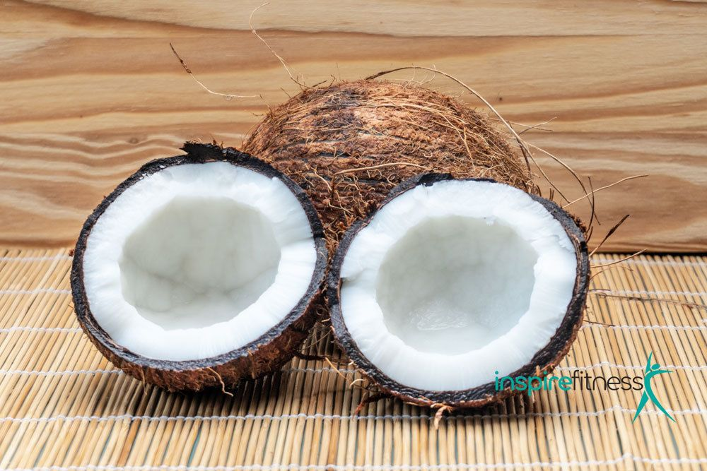 healthy oils and fats - coconut oil